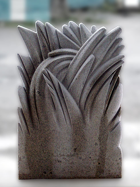Simon Muscat Stone Carving: Granite Grass